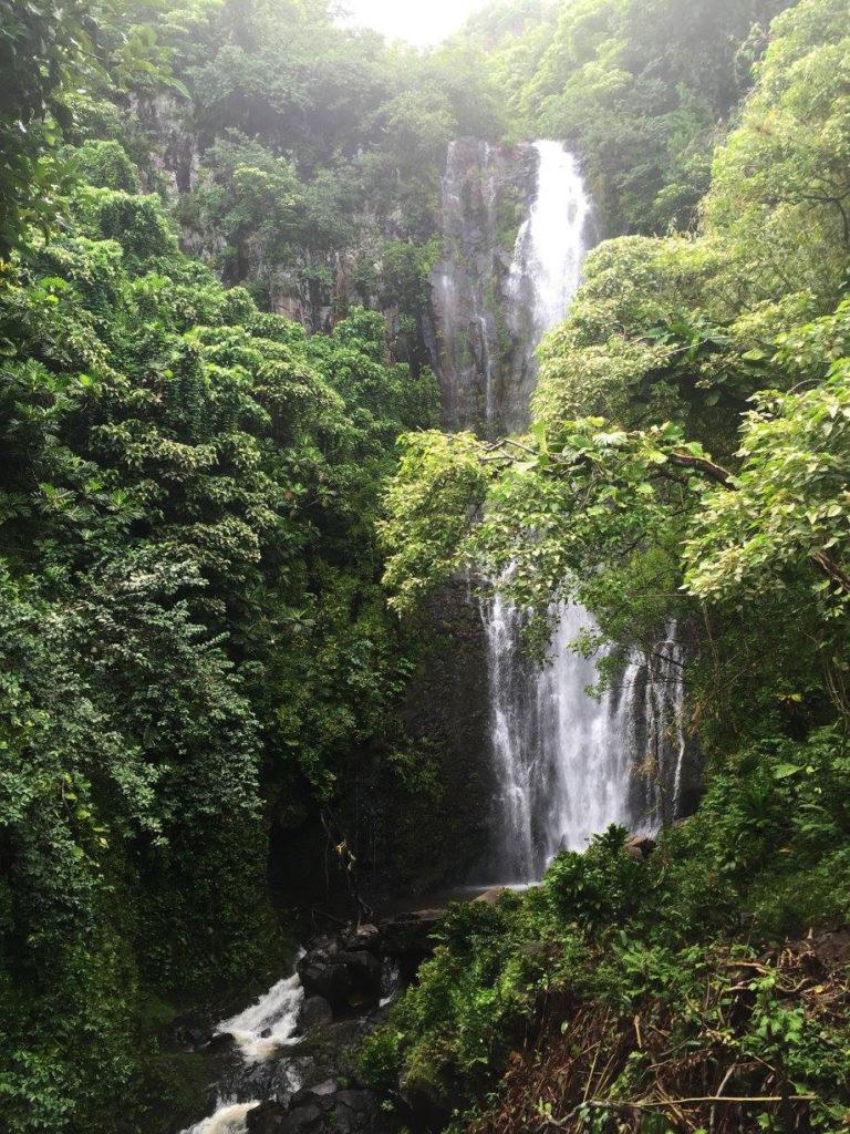Waimoku Falls, in Haleakala National Park